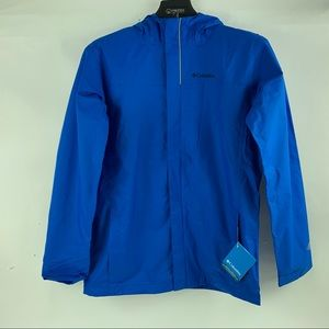 Columbia Youth Boys Watertight Rain Jacket Size XL